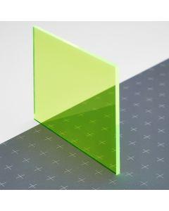 PLEXIGLAS® GS-fluoreszierend grün 6C02