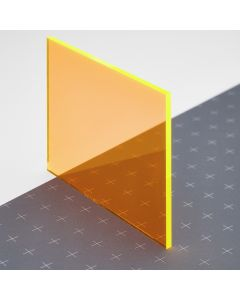 PLEXIGLAS® GS-fluoreszierend orange 2C01
