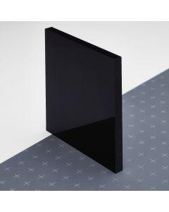 Lyx® Vollacryl schwarz ca. RAL 9005 einseitig matt/glänzend